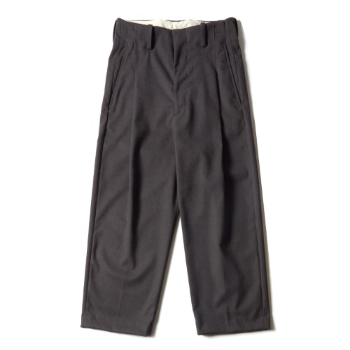 PLEAT PANTS_GREY