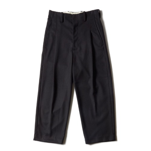 PLEAT PANTS_BLACK