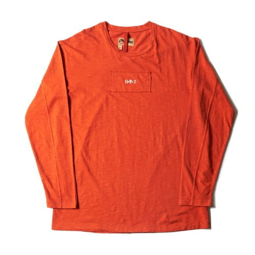 LYBRO LONG SLEEVE TEE_DK ORANGE