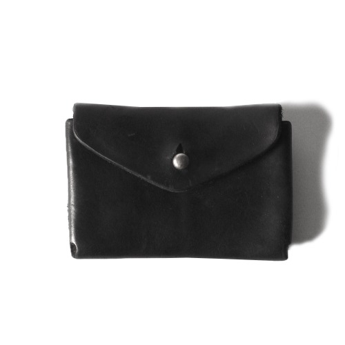 HORSE FULL GRAIN WALLET_BLACK