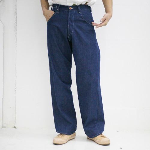 TWISTY BOY_NATURAL INDIGO SELVEDGE