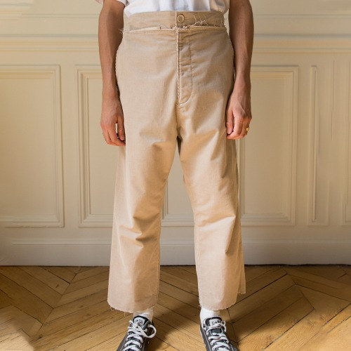 EASY PANTS COTTON CORDUROY_CAMEL