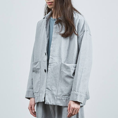 DENIM BIG POCKET_LIGHT GREY