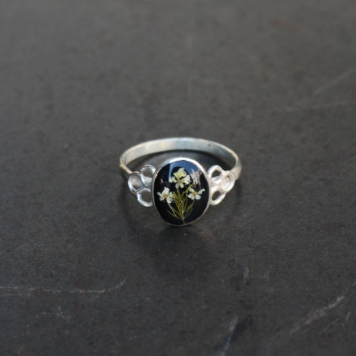 OVAL RING_BLACK