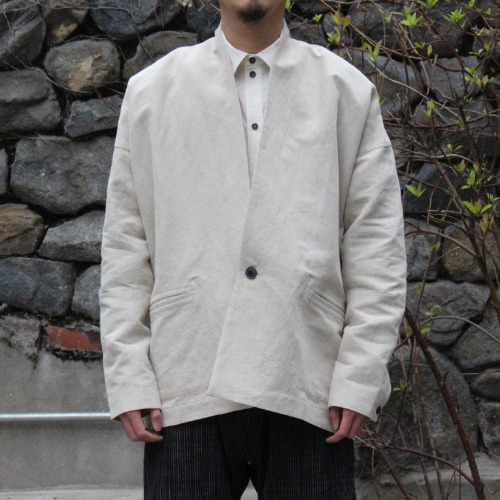 JACKET#31 - NATURAL BAMBOO CLOTH