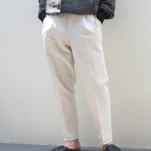 DOUBLE CROSS GURKHA PANTS_IVORY