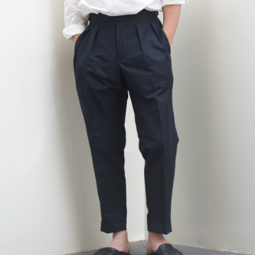 TWILL KNICKER PANTS_NAVY