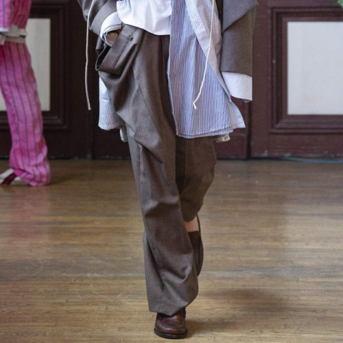 OVERSIZE TROUSERS_BROWN