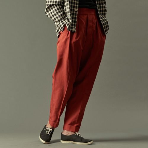 TWILL KNICKER PANTS_RED