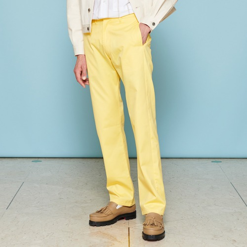 SLIM CHINO_YELLOW