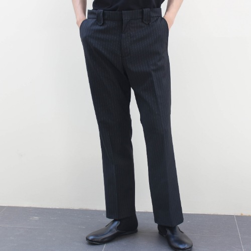 WESTERN SLIT PANTS_BLACK