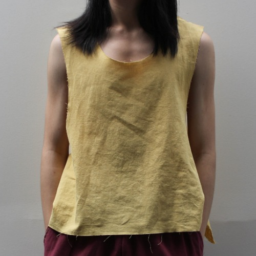 SUPER SEXY TANK TOP_YELLOW
