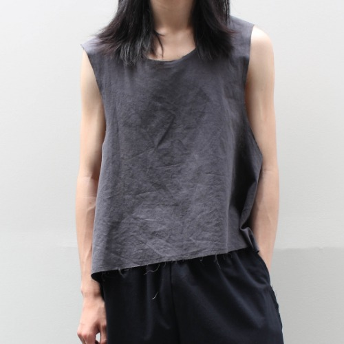 SUPER SEXY TANK TOP_CHARCOAL