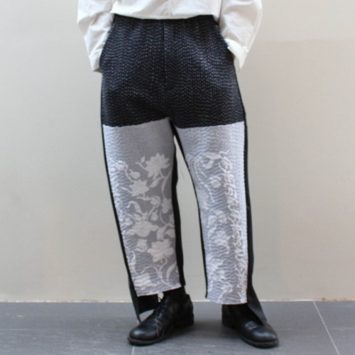 BURT TROUSER_NAVY/NATURAL