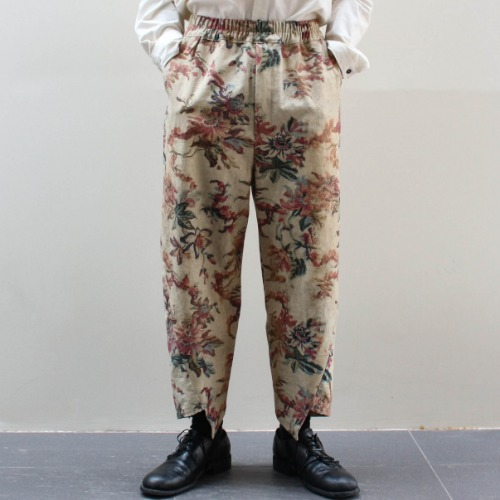 ARTEM TROUSER_PASSION FLOWER