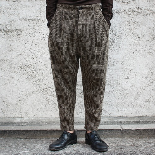 SIDE CINCH TROUSERS_WOOL CREPE